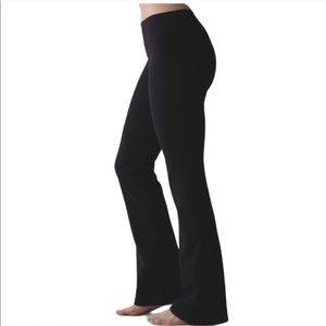 Lululemon leggings flare black bootcut
